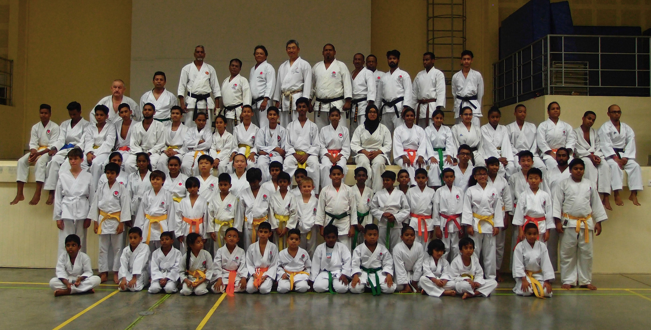 The Young Generation of the JKA Mauritius Family