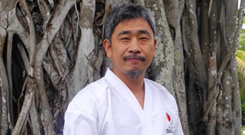 Shihan Koichiro Okuma -  Chief Instructor of Japan Karate Association Mauritius